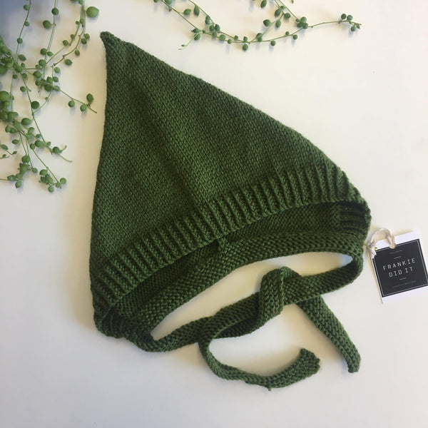 Pixie Hats | NZ Wool | Hand Knitted | 3 colours