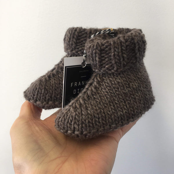 Ugg Booties | 100% NZ Wool | Hand Knitted | 7 colours