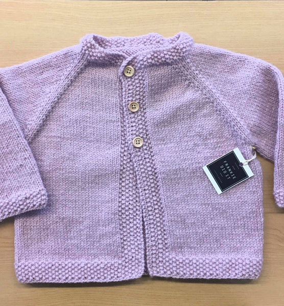 NZ Wool Knitted Cardi | Hand knitted | 3 colours