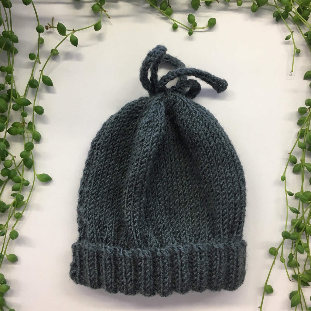 Hand Knitted Bow Hats | NZ Merino | 4 colours