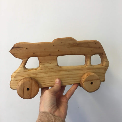 Wooden NZ Pine Vehicles | Handmade | Camper