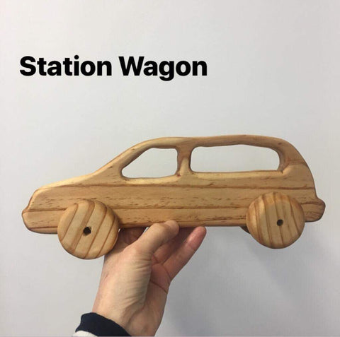 Wooden NZ Pine Vehicles | Handmade | Station Wagon