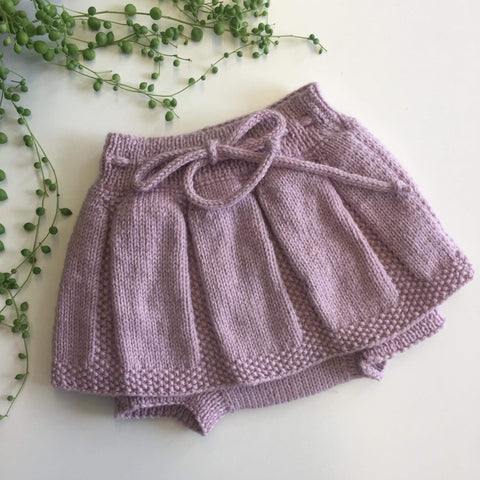 Skirted Bloomers | NZ Wool | Hand Knitted in NZ