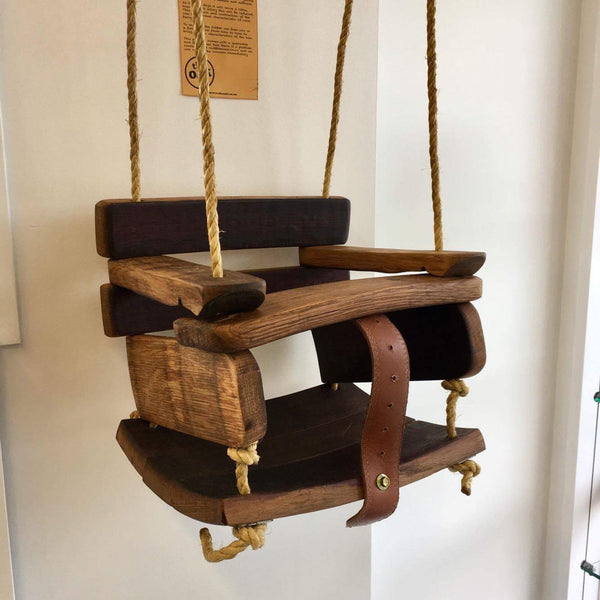Reclaimed Oak Timber Swing - 2 sizes available