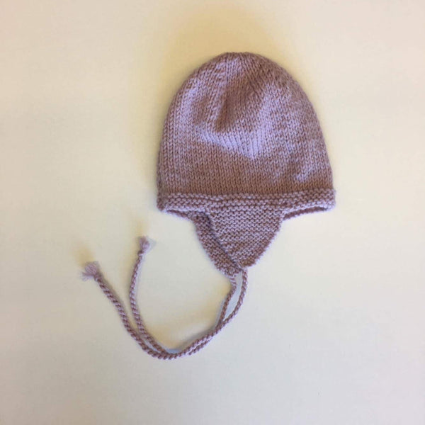 Hand Knitted Aviator Hat | 100% NZ Wool | 5 colours