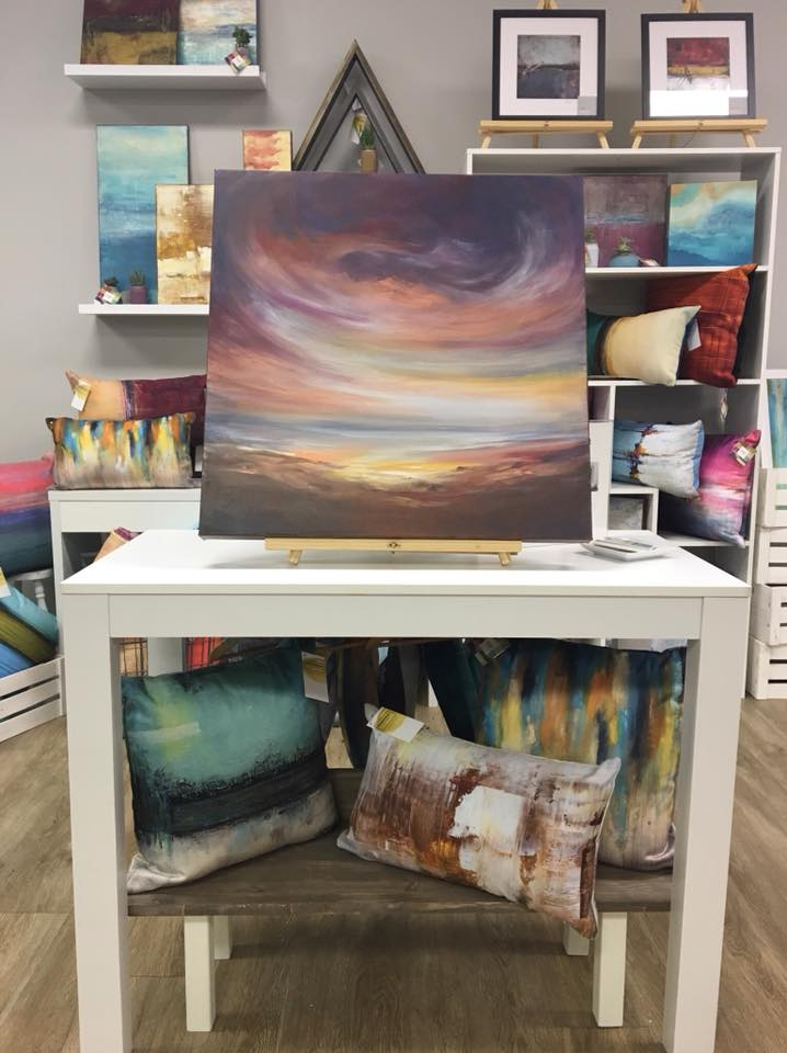 Elizabeth Moran Art for Contemporary Paintings at Three Little Birds Market