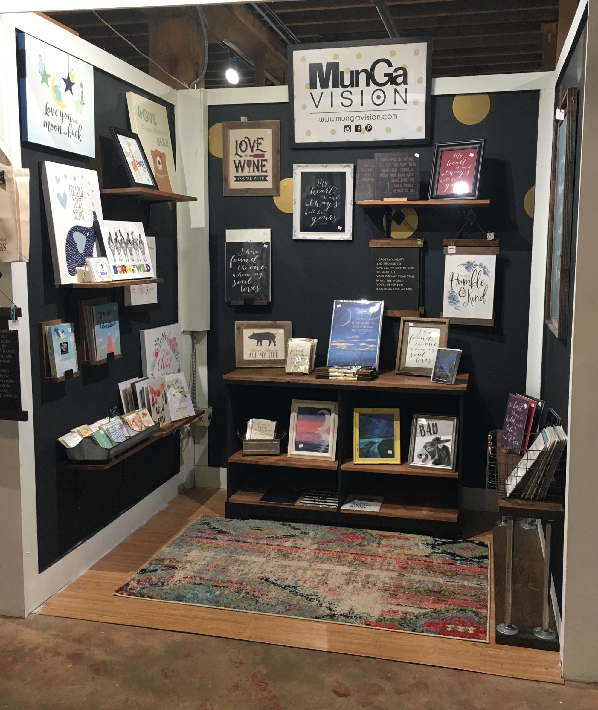 Munga Vision Boutique Space at The Cotton Company - Retail Warehouse in Wake Forest, NC