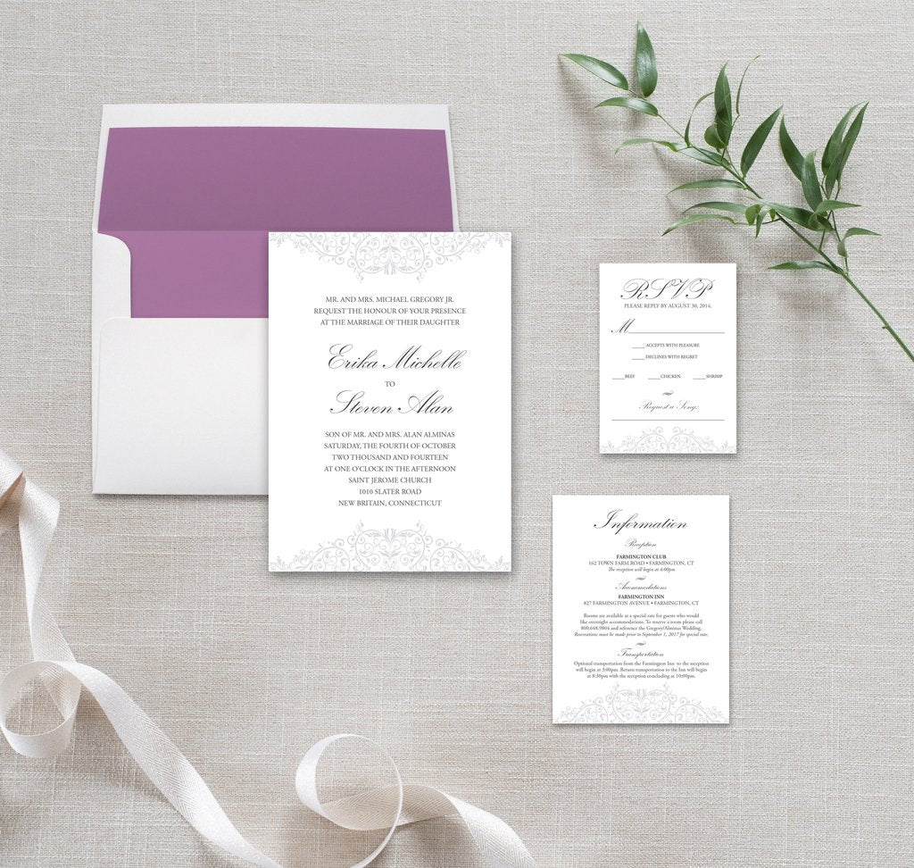Wedding Invitation Templates Free by Munga Vision