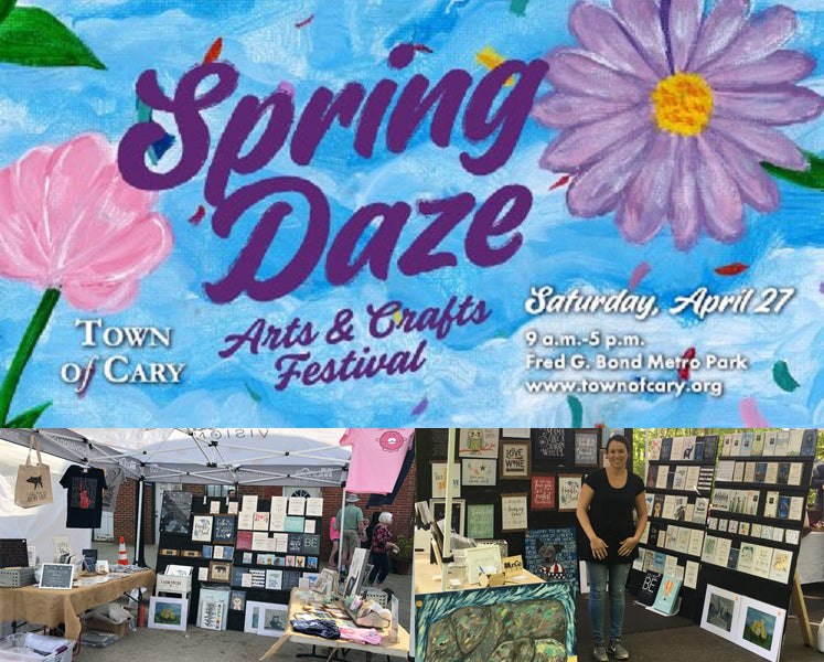 The 2019 Spring Daze Arts & Crafts Festival in Cary, NC - Find Munga Vision in Booth A06