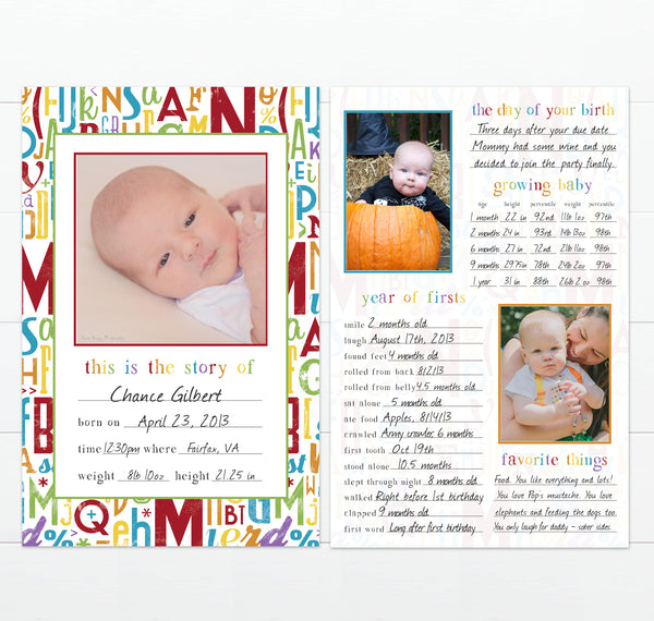 Simple ABC Theme Example of Baby's Greatest Hits