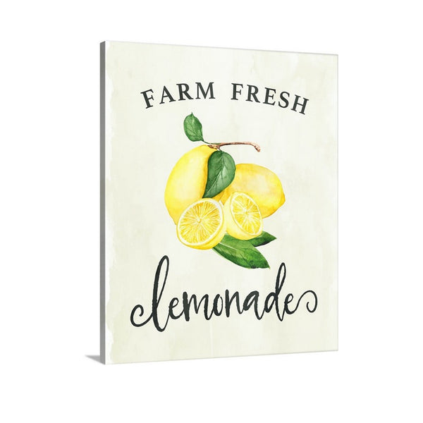 Farm Fresh Lemonade Country Style Canvas