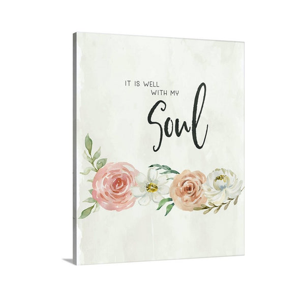 It is Well with My Soul Canvas Art