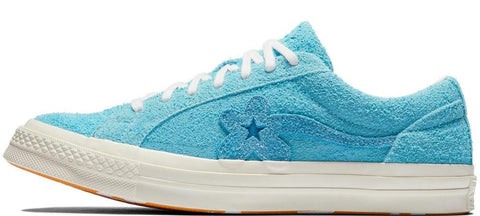 Converse X Golf Le Fleur One Star Blue Jay