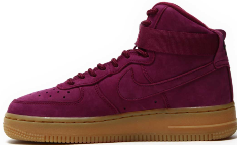 Nike Air Force 1 Mid Bordeaux