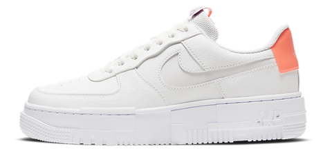 Nike Air Force 1 Pixel White / Salmon Pink