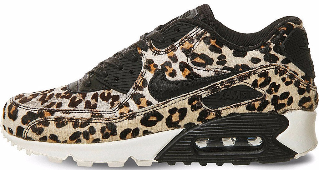 timeless design ca290 bcdb7 Nike Air Max 90 Snow Leopard Pony Hair