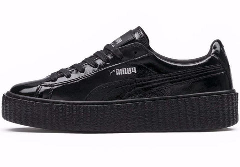 Rihanna x Fenty Puma Creeper Black Cracked Leather