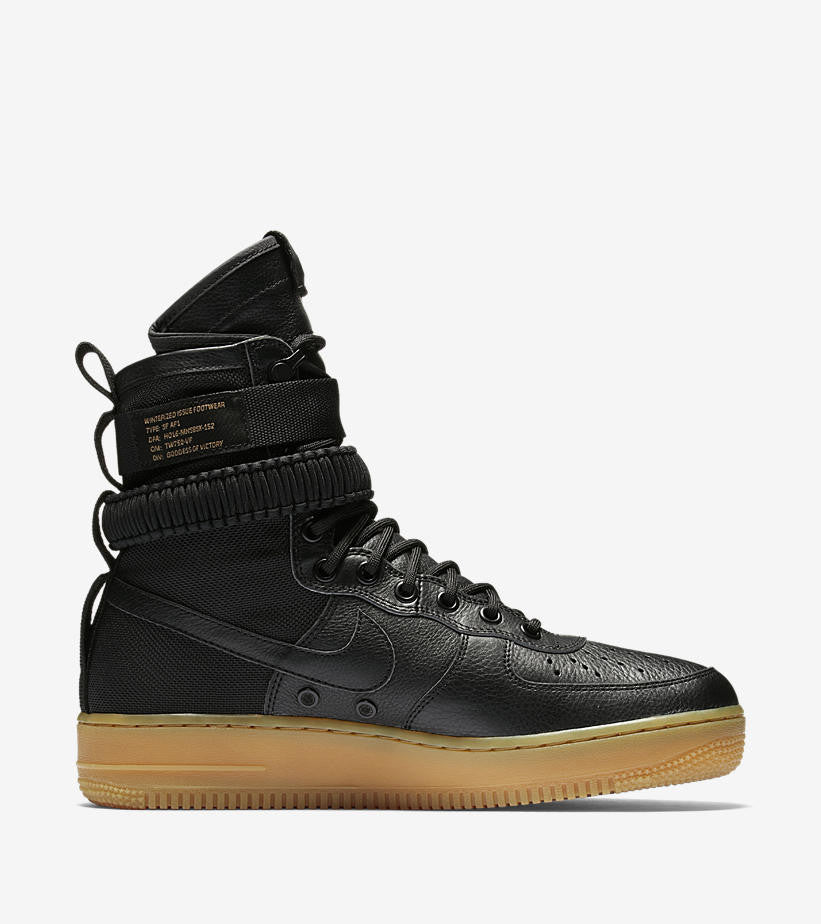 nike air force 1 special field black soldsoles. Black Bedroom Furniture Sets. Home Design Ideas