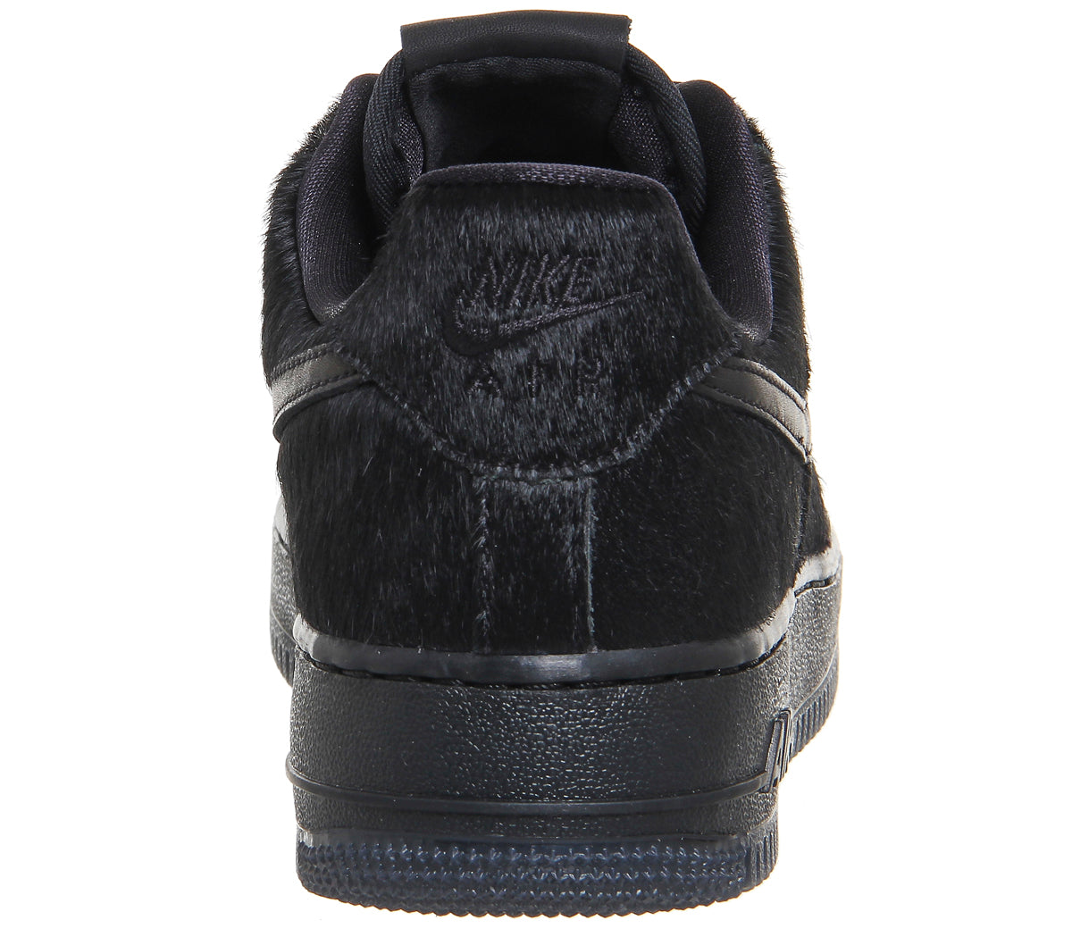 check out ffdd0 3bfb8 Nike Air Force 1 Wmns Black Pony Hair – Soldsoles