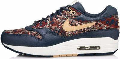 Liberty London x Nike Air Max 1 Paisley – Soldsoles 76c267130a4e