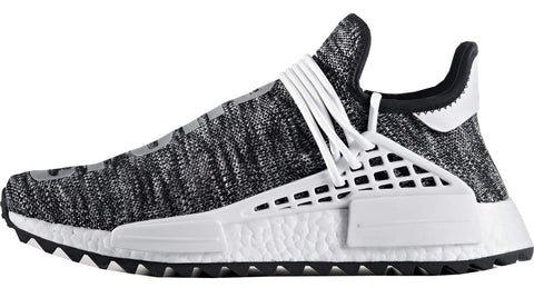 half off 2abc5 a295e Pharrell Williams x Adidas NMD Human Race Trail Oreo