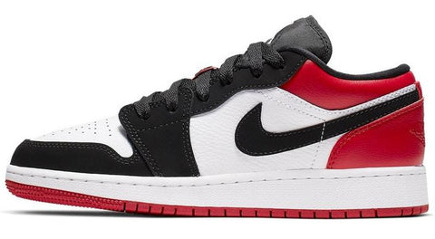 Nike Air Jordan 1 Low Black Toe GS
