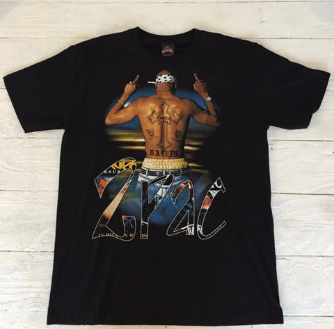 Tupac Band retro T-shirt