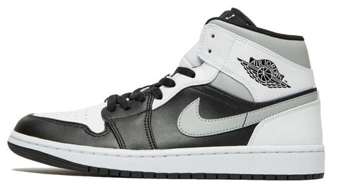 Nike Air Jordan 1 Mid Black / Grey