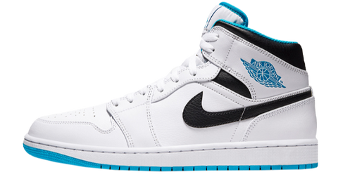 Nike Air Jordan 1 White Blue