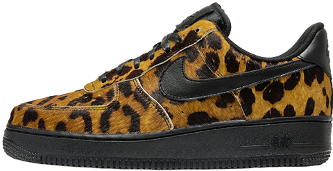 Nike Air Force 1 Leopard Pony Hair