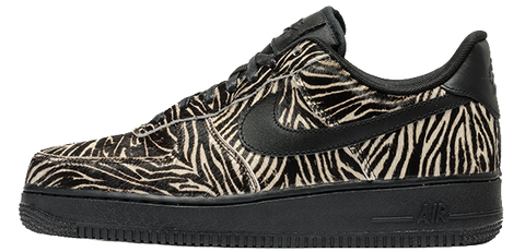 Nike Air Force 1 Zebra Pony Hair