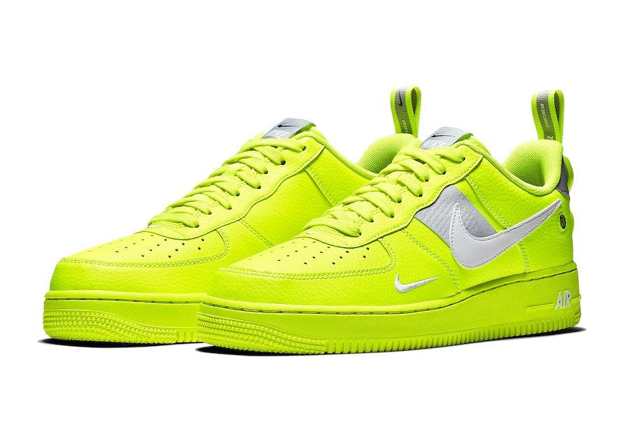 high fashion sale retailer great look Nike Air Force 1 Low Utility Neon Junior