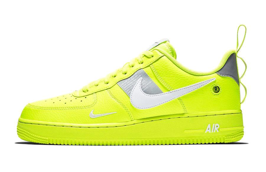 high quality exclusive shoes 100% genuine Nike Air Force 1 Low Utility Neon