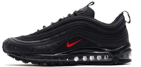 Nike Air Max 97 Black / University Red Reflective