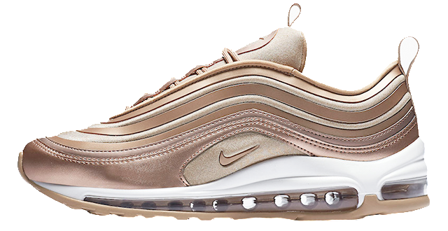 size 40 92c14 3919b Nike Air Max 97 Ultra Gold / Cashmere