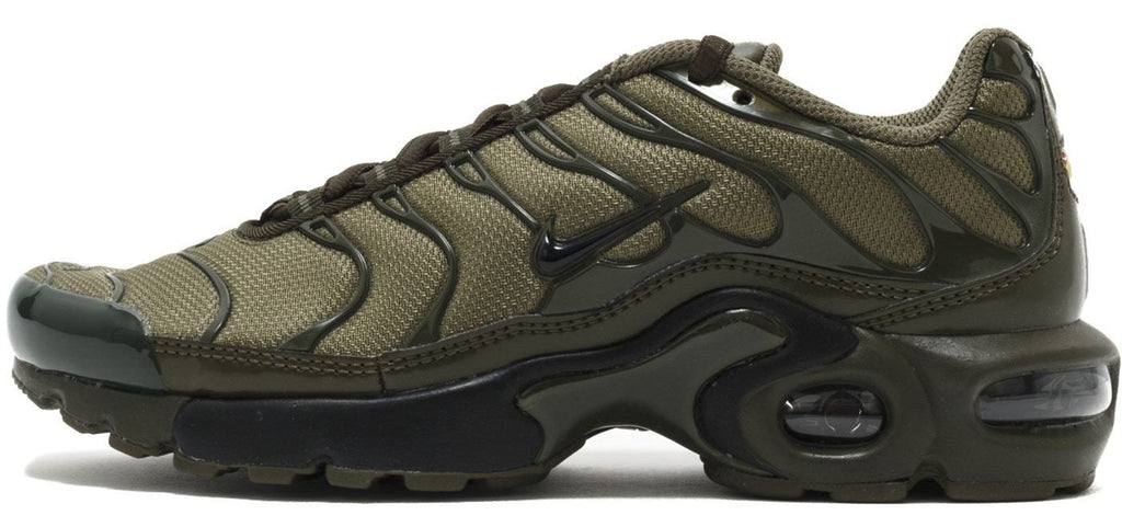 low priced fd169 222b1 Nike Air Max TN Olive Green GS