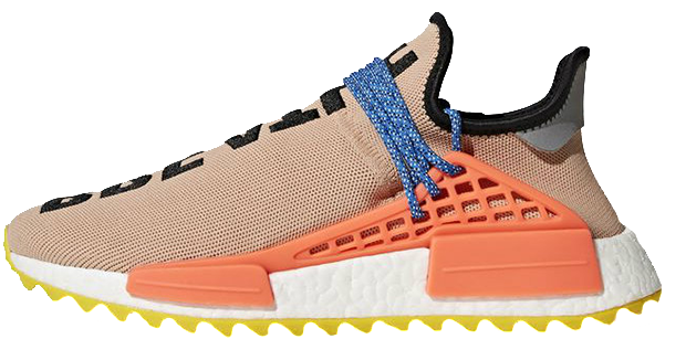 wholesale dealer 9cd15 0797c Pharrell Williams x Adidas NMD Human Race Trail Pale Nude