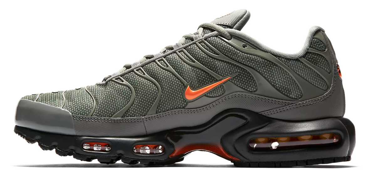 half off 21a2b d8d74 Nike Air Max TN Khaki Green / Orange