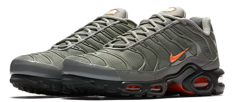 separation shoes d681b a0859 Nike Air Max TN Khaki Green   Orange