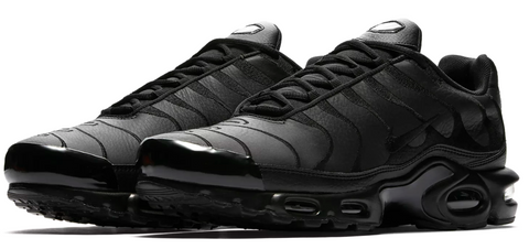 Nike Air Max TN Leather Triple Black – Soldsoles e8fad2ce8