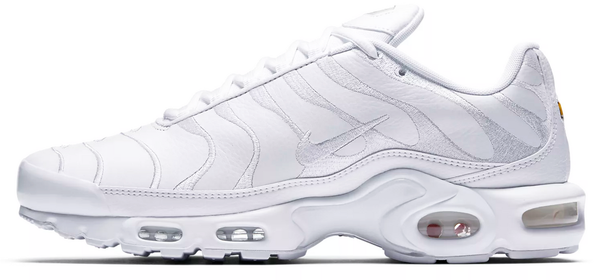 new arrival 3a2bc 8bc96 Nike Air Max TN Leather Triple White