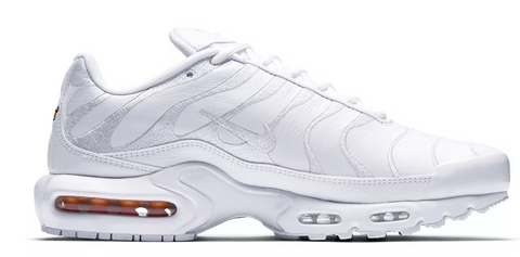timeless design 50237 3d371 Nike Air Max TN Leather Triple White – Soldsoles