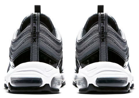 brand new e06ba 87087 ... sweden nike air max 97 patent leather black grey cfda8 59d30