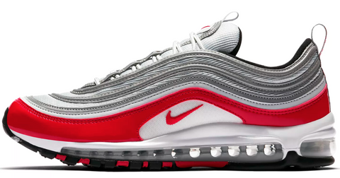 Nike Air Max 97 Patent Leather Red   White 981533938