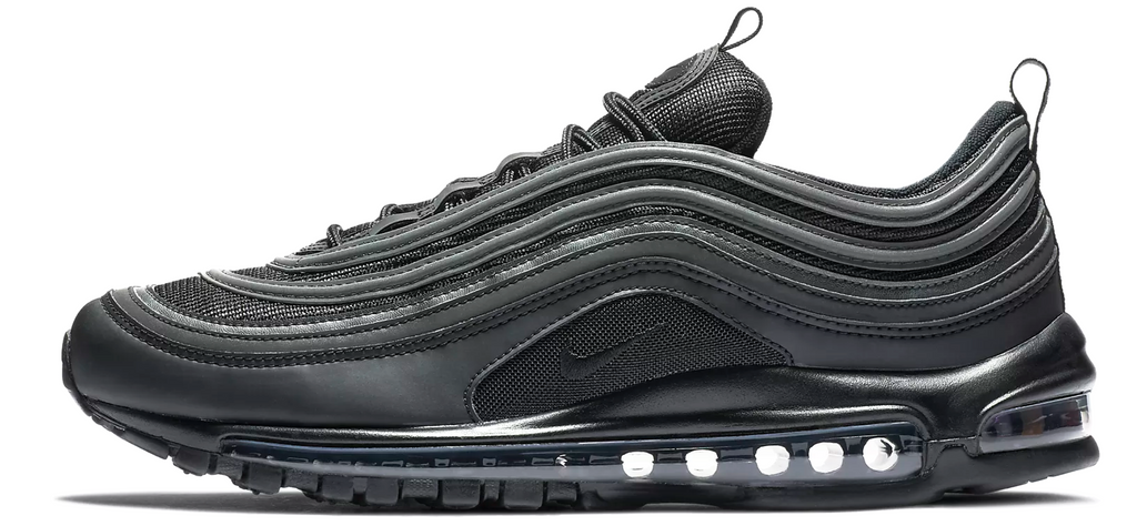 brand new 8789b 66b4c Nike Air Max 97 Triple Black Mens – Soldsoles