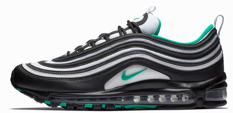 4ac50958e0 Nike Air Max 97 Black / Emerald Green