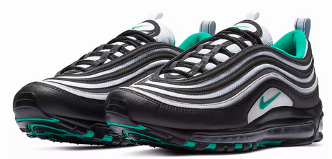 53927bfbe4 Nike Air Max 97 Black / Emerald Green – Soldsoles
