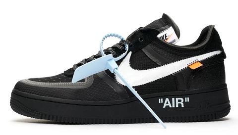 Off White x Nike Air Force 1 Low Black