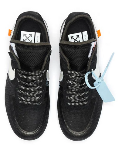 reputable site fb512 fc4bb Off White x Nike Air Force 1 Low Black