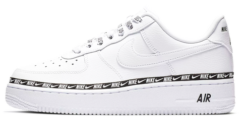 "Nike Air Force 1 ""Overbranded"" White"